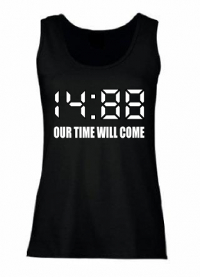 Damen Top ( 14:88 OUR TIME WILL COME )