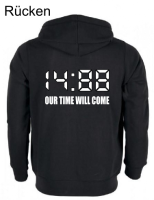 Herren Kapuzen-Jacke ( 14:88 OUR TIME WILL COME )
