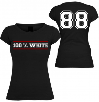 Damen T-Shirt ( 100% White )