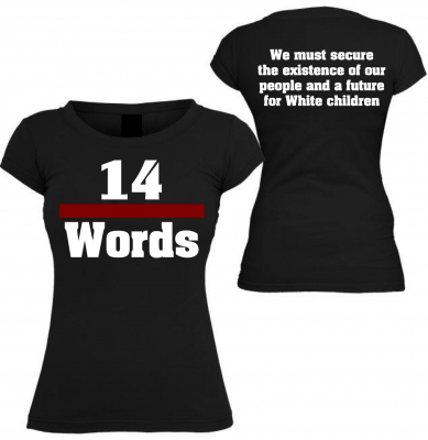 Damen T-Shirt ( 14 Words )