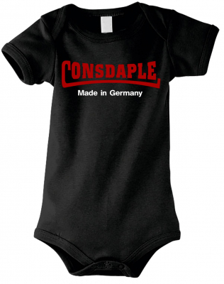 Baby Kurzarm Body ( Consdaple, made in Germany )