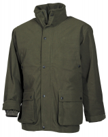 Outdoorjacke, Poly Tricot,oliv