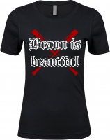 Damen Premium T-Shirt ( Braun is beautiful )
