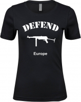 Damen Premium T-Shirt ( Defend Europe )