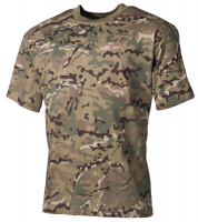 Kinder T-Shirt, halbarm,operation-camo, 170 g/m²