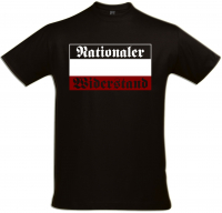 Herren T-Shirt ( Nationaler Widerstand )