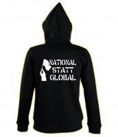 Damen Kapuzen-Jacke ( National statt global )