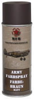 Army Farbspray,BRAUN, matt, 400 ml