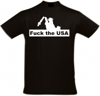 Herren T-Shirt ( Fuck the USA )