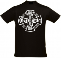 Herren T-Shirt ( Germania, Kreuz )