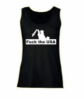 Damen Top ( Fuck the USA )
