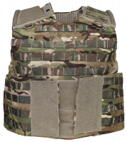 Brit. Cover-Body-Armour,Osprey ASSAULT, MTP tarn,gebr.