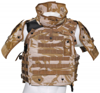 Brit. Cover-Body-Armour,MKII o.III, DPM desert, gebr.