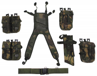 Brit. Tactical Set, DPM tarn,7-teilig, gebr.