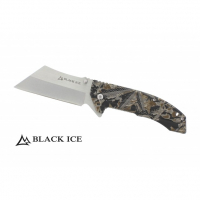 BLACK ICE Einhandmesser Green