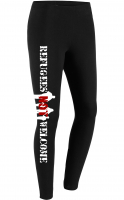 Damen Leggings (Refugees not Welcome)