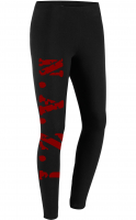 Damen Leggings (N.A.Z.I, Rot)