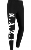 Damen Leggings (N.A.Z.I, Weiß)