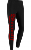 Damen Leggings (Werwolf Germany, Rot)