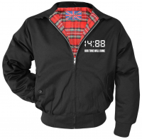 Bestickte Herren Harrington Jacke ( 1488 Our time will come )