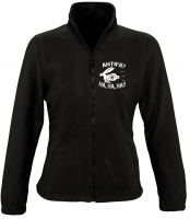 Damen Fleecejacke ( Antifa, ha ha ha )
